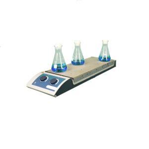 Магнитная мешалка US-0135H 10-ти местная с подогревом