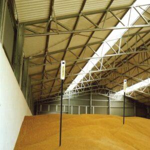 Измерение температуры зерна при хранении