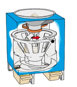 Делитель проб зерна автоматический 2H, 2L Pfeuffer